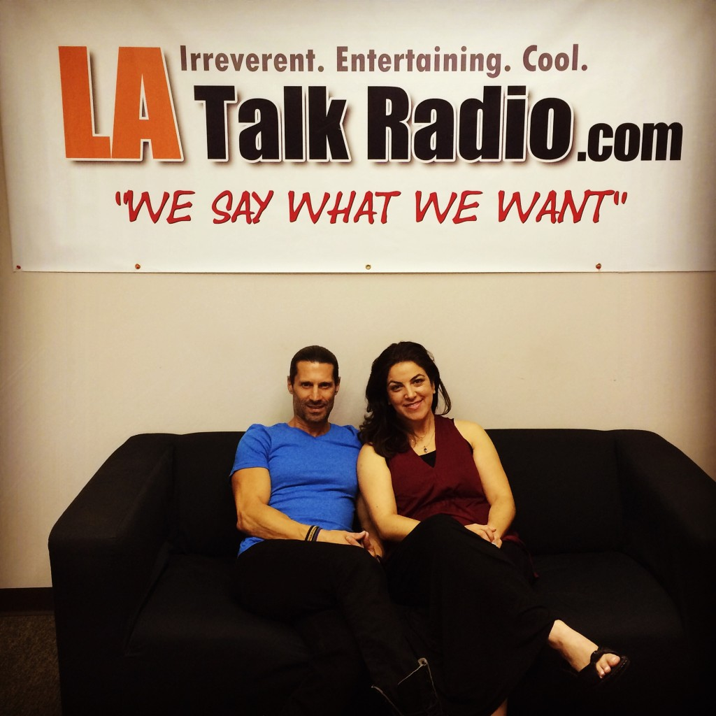 Tola Talks' Rich Tola and Love & Relationship expert, Jennifer Gaynor-Yaker