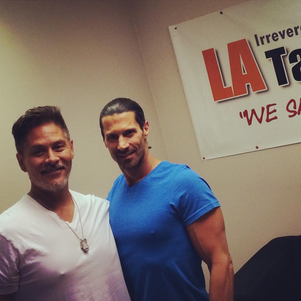 Tola Talks' Rich Tola with Hollywood Beauty Guru John Francis
