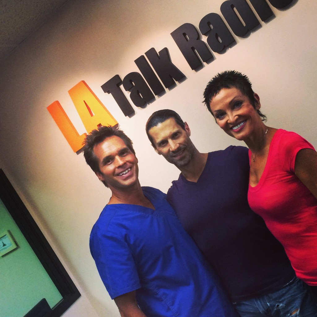 Tola Talks' Rich Tola and Wellness Professionals Dr. Thomas Polucki and his wife Toni.