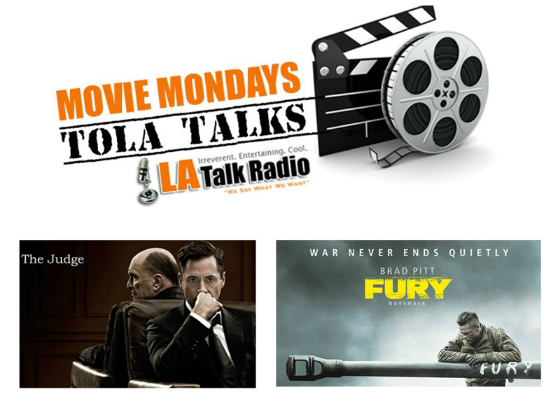 The past two weeks of Movie Mondays on Tola Talks - The Judge & Fury