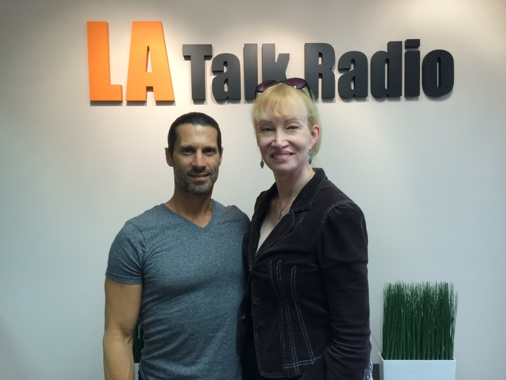 Tola Talks' Rich Tola with Author and Past Life Specialist, Noreh Millar.