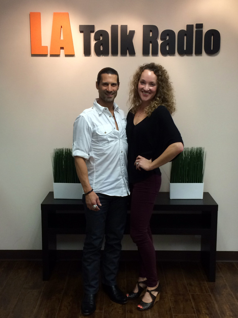 Tola Talks' Rich Tola and Psychotherapist & Yoga Teacher, Erin Mason