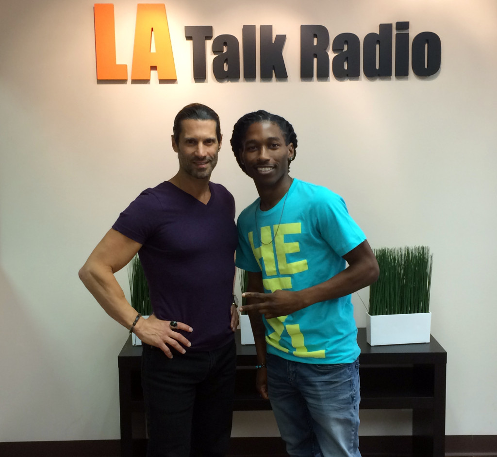 Tola Talks' Rich Tola with Rapper/Singer from NBC's The Voice, Moses Stone.
