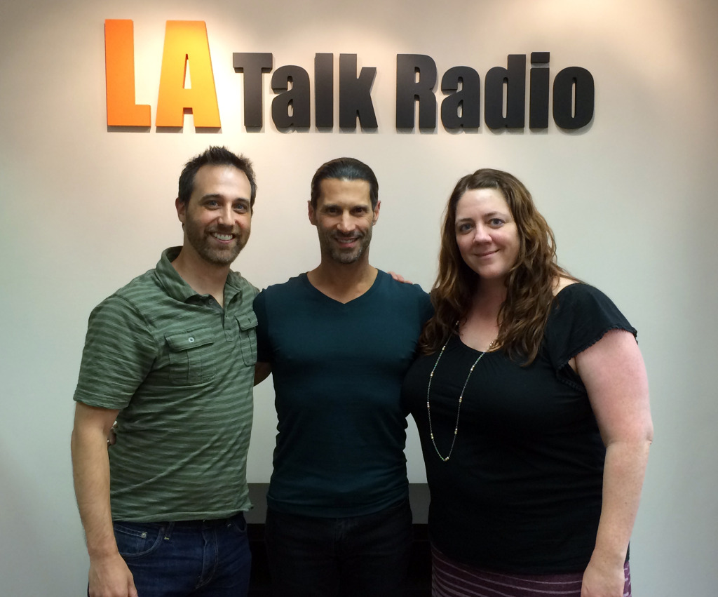Tola Talks' Rich Tola with Kevin Mockrin & Karina Walters of Hollywood's Mockrin/Walters Casting