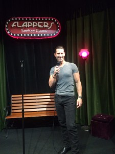 Rich Tola at Flappers Comedy Club